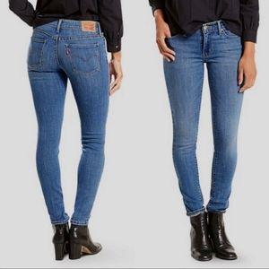 Levi's 711 Skinny Jeans Mid Rise 31